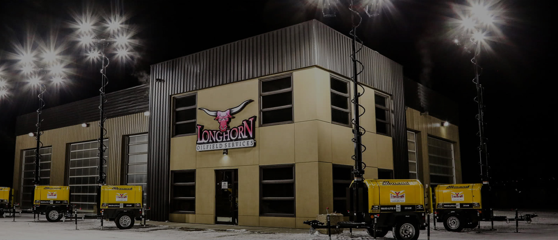 New LED Light Towers at Longhorn Oilfield Services