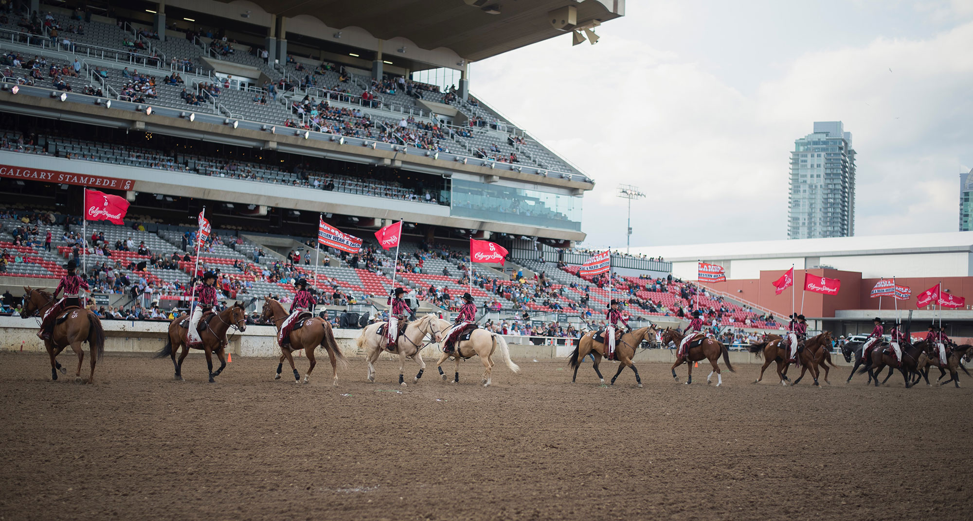 Supporting the Calgary Stampede Showriders