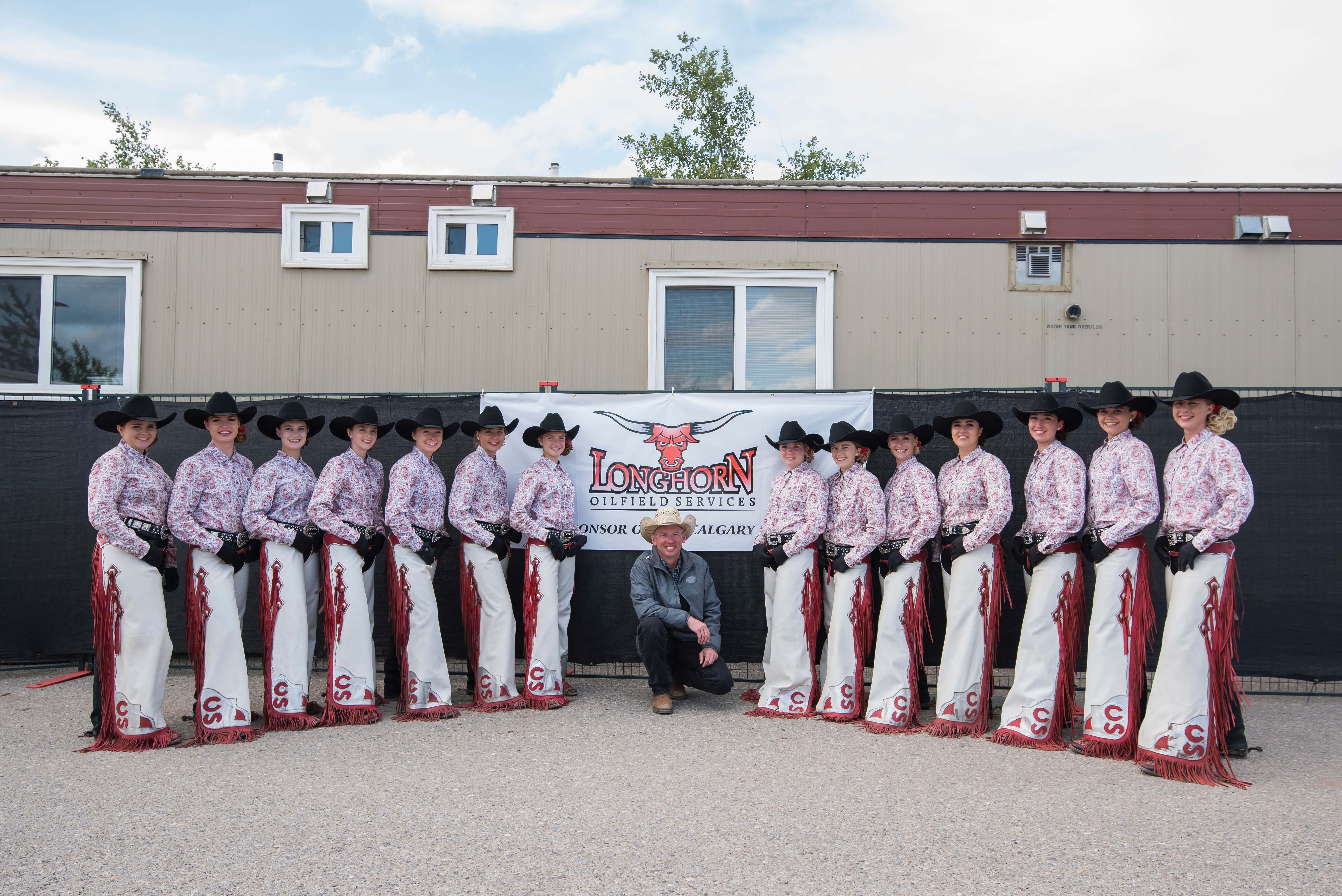 longhorn oilfield services and the calgary stampede showriders